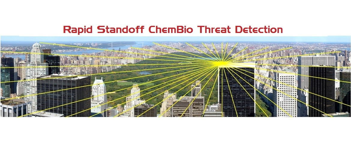 Active standoff sensing of ChemBio agents, CBD