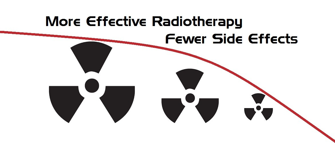 Cancer radiation, fewer side effects.
