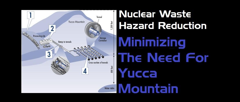 Nuclear waste hazard reduction